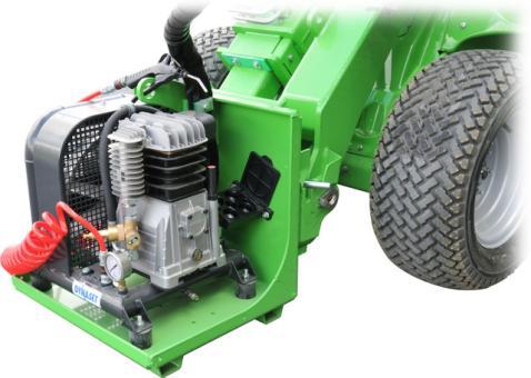 hydraulischer Luftkompressor, bis 400l/Min.
