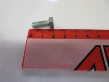 6-kt Schraube M6x16mm DIN933