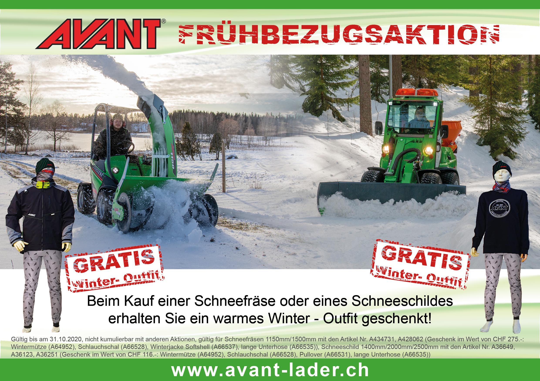Winteraktion Deutsch